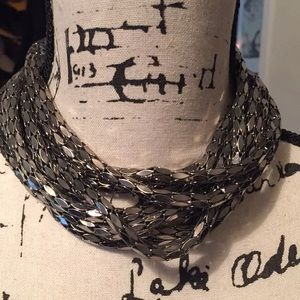 Great Multi-Strand Metal necklace